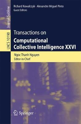 Transactions on Computational Collective Intelligence XXVI image