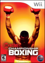 Showtime Championship Boxing for Nintendo Wii