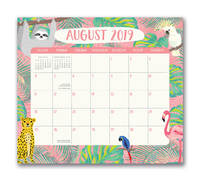 Jungle Life 2020 Magnetic Monthly Desk Pad
