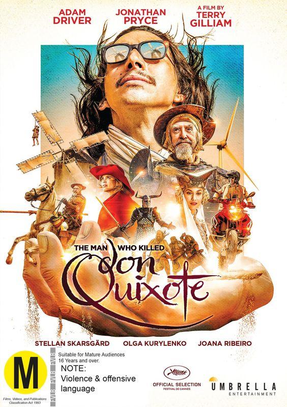 The Man Who Killed Don Quixote on DVD
