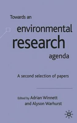 Towards an Environment Research Agenda image