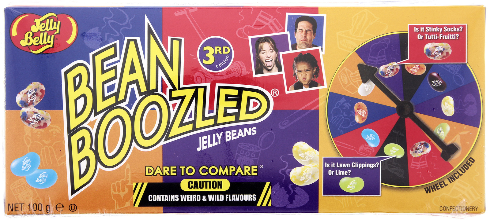 Jelly Belly Bean Boozled Spinner Game Box 99g image