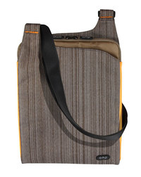 Omp Minerva Series Tablet/Laptop Satchel - Brown/Orange
