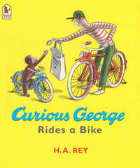Curious George Rides A Bike by H.A. Rey image