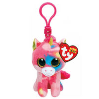 Ty Beanie Boos: Fantasia the Unicorn - Clip On Plush