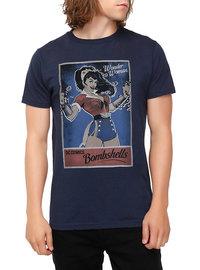 DC Bombshell Wonder Woman Mens Tee - Large