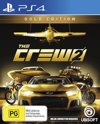 The Crew 2 Gold Edition for PS4