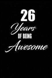 26 years of being awesome by Nabuti Publishing image