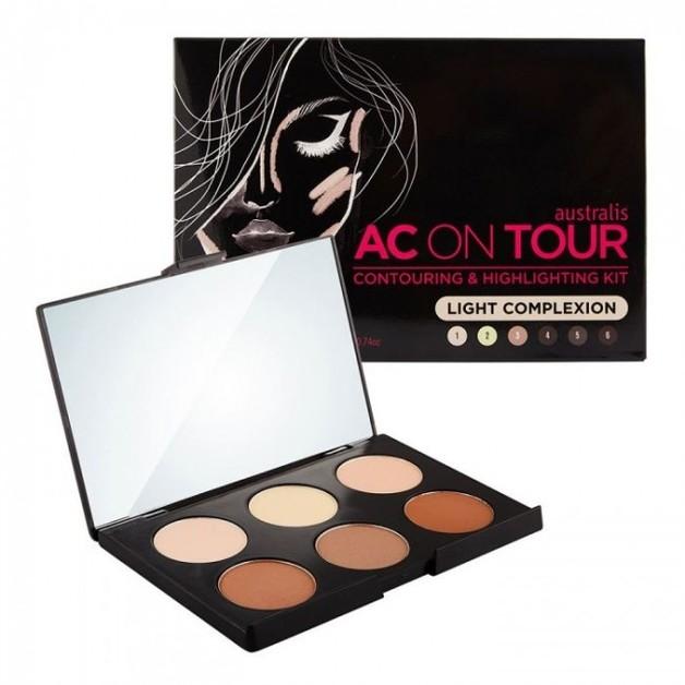 Australis: Powder Contouring & Highlighting Palette - Light