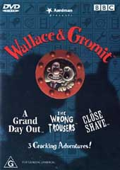 Wallace & Gromit - 3 Cracking Adventures on DVD