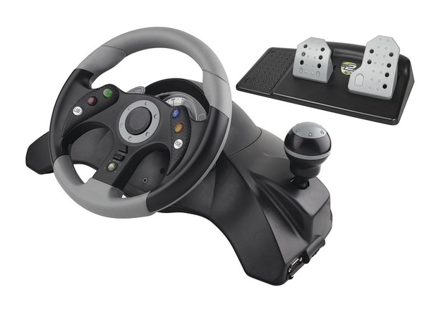 Mad Catz MC2 Racing Wheel for Xbox 360