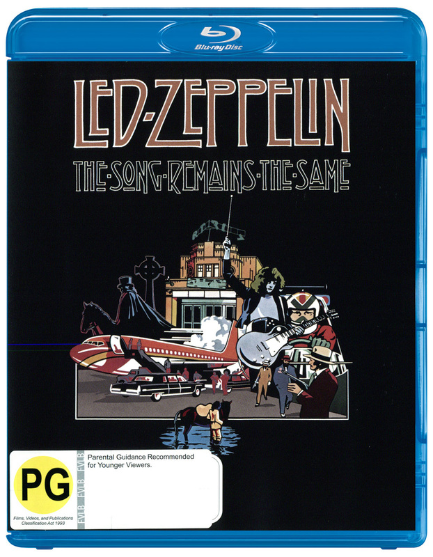 Led Zeppelin - The Song Remains The Same on