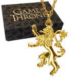 Game of Thrones - Lannister Pendant (Gold Plated)