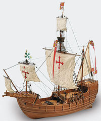 Santa Maria Wooden Ship Model Kit