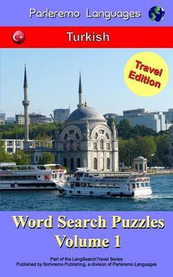 Parleremo Languages Word Search Puzzles Travel Edition Turkish - Volume 1 by Erik Zidowecki image