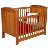 Touchwood Meadow Panelled Safety Cot (Rimu)