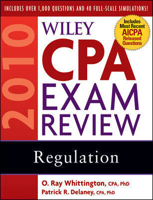 Wiley CPA Exam Review 2010: Regulation by Patrick R. Delaney image