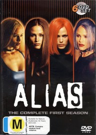 Alias - Complete Season 1 (6 Disc Set) on DVD image