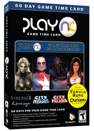 NCSoft 60 day Time Card for PC Games image