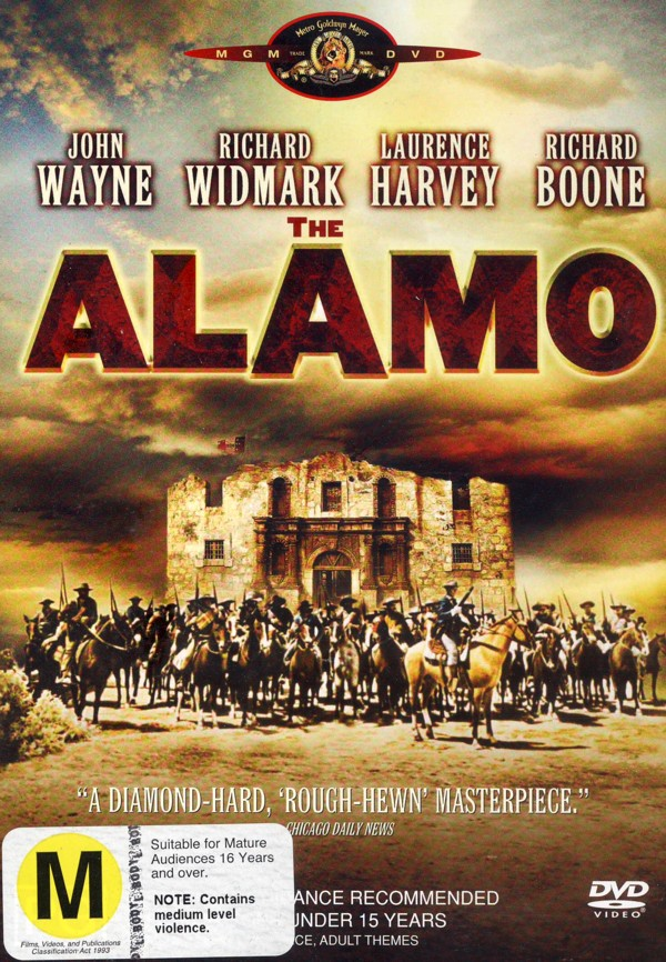 The Alamo (New Packaging) on DVD image