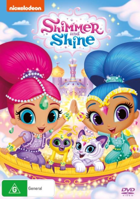 Shimmer & Shine: Magical Flight on DVD