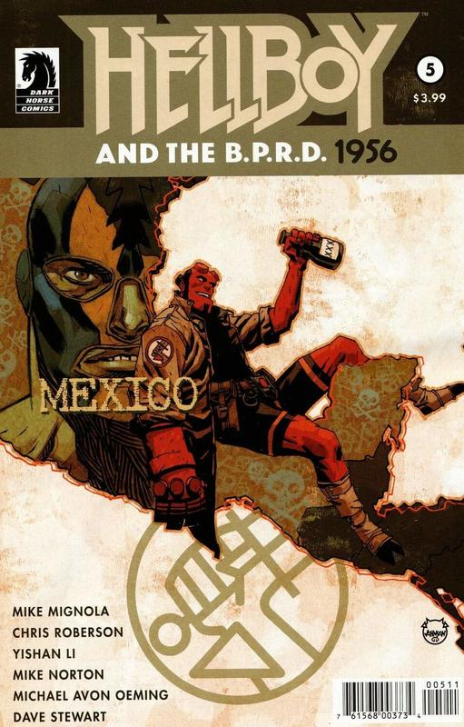 Hellboy & the BPRD: 1956 - #5 by Mike Mignola