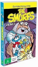 Smurfs, The - Vol. 6 on DVD
