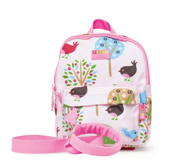 Penny Scallan: Mini Backpack School with Rein - Chirpy Bird