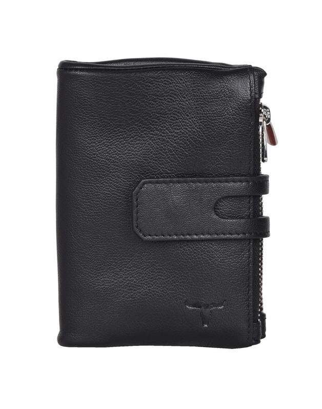 Urban Forest: Sierra Wallet w/2 Zipped Pockets - Serena Black