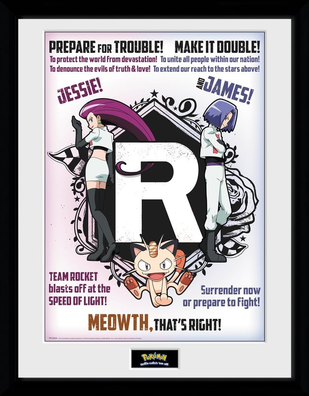 Pokemon: Team Rocket - Collector Print (41x30.5cm)