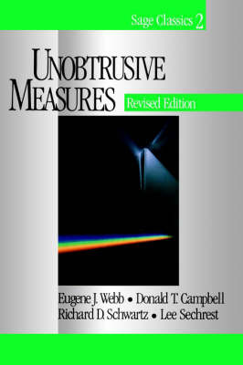 Unobtrusive Measures by Eugene J. Webb image