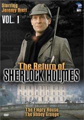 Sherlock Holmes -  Vol 1 on DVD