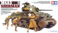 Tamiya M4A3 Sherman 75mm Front Line Breakthrough 1:35 Model Kit