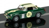 Scalextric: DPR MGB #21 - Slot Car