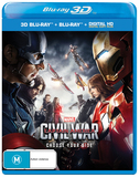 Captain America: Civil War (3D Blu-ray) DVD