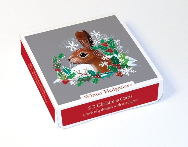 Buy winter hedgerows greeting card set at mighty ape nz museums galleries winter hedgerows greeting card set 20 pack m4hsunfo