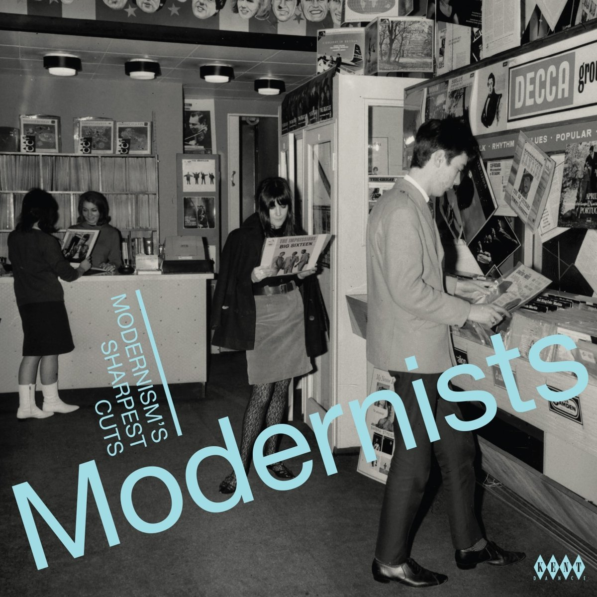 Modernists: Modernism's Sharpest Cuts (LP) by Various Artists image