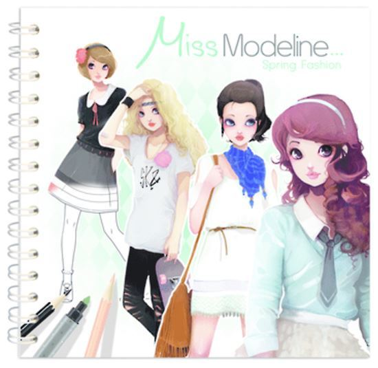 Miss Modeline Notebook - Spring Fashion