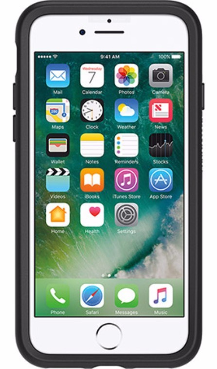OtterBox Symmetry Case for iPhone 7/8 - Black