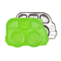 Innobaby: Aqua Heat Stainless Steel Container - Green