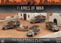 Flames of War: Fighting First - M3 Halftrack Transport Platoon (Plastic)