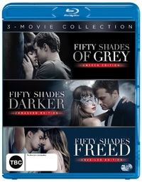 Fifty Shades Trilogy Set (Fifty Shades of Grey/Fifty Shades Darker/Fifty Shades Freed) on Blu-ray