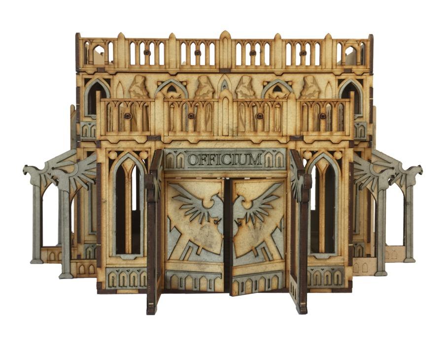 TTCombat: Tabletop Scenics - Gothic Officium image