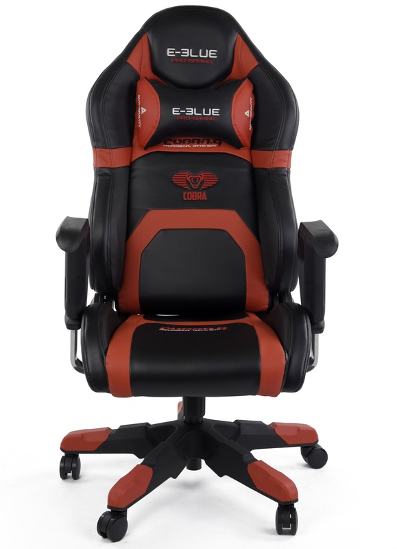E-Blue Cobra Racing Gaming Chair (Red) for