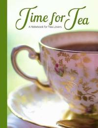 """Time for Tea """"pink & Gold Tea Cup"""" a Blank Notebook Journal for Tea Lovers by Ahri's Notebooks & Journals"""