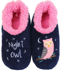 Slumbies Night Owl Pairables Slippers (L)