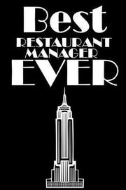 Best Restaurant Manager Ever by Retrosun Designs