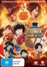 One Piece: Episode Of Sabo - TV Special on DVD