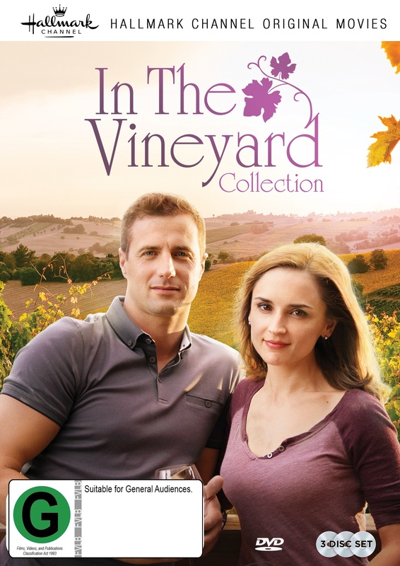 Hallmark: In The Vineyard Collection on DVD