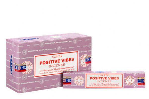 Satya Positive Vibes Incense